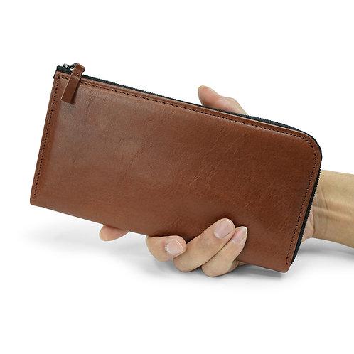 long wallet/ロングウォレット(ブラウン)