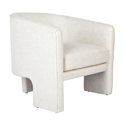 CARMEL OCCASIONAL CHAIR IN IVORY LINEN