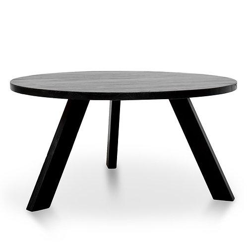 TRIPPEIDI 150CM JAPAN BLACK DINING TABLE