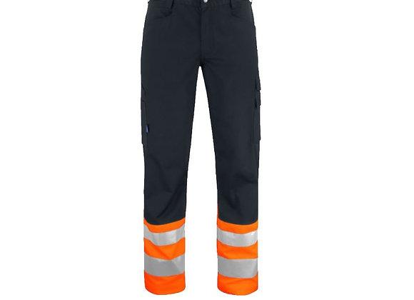 Pantalon Haute Visibilité Noir et Orange