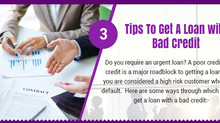Infographic: How To Get A Loan With Bad Credit?