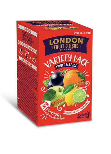 Fruit & Spice Variety Pack 20 Teabags