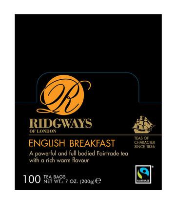 Ridgways English Breakfast 100