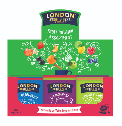 Fruit Infusions Assortment Box 80 Teabags