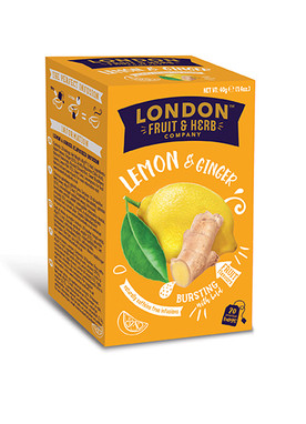 Lemon & Ginger 20 Teabags