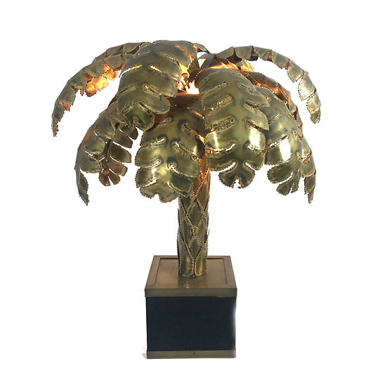 Maison Jansen Palm Lamp
