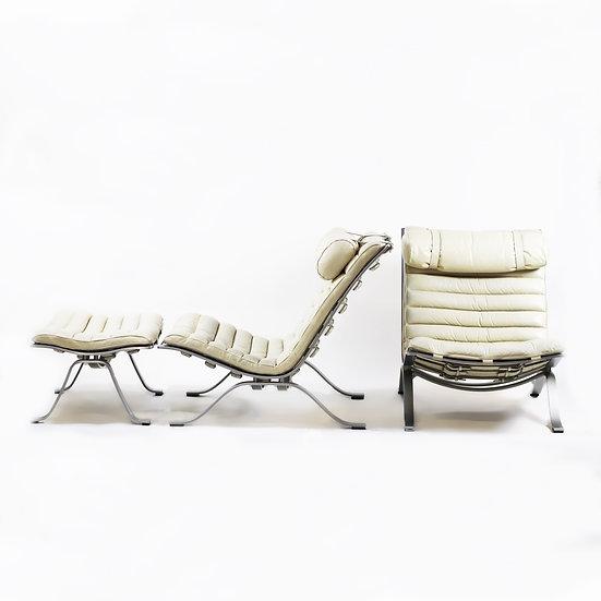 Ari chairs and Ottoman