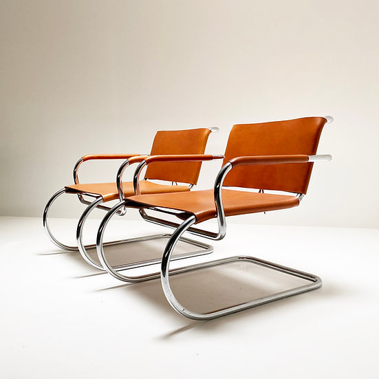 Franco Albini cantilever chairs