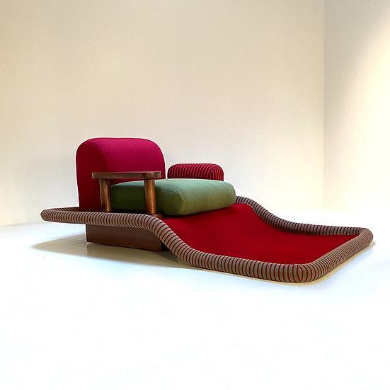 Tappeto Volante Ettore Sottsass for Bedding Brevetti