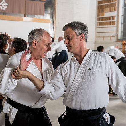 Ha Lehrman aikido teacher