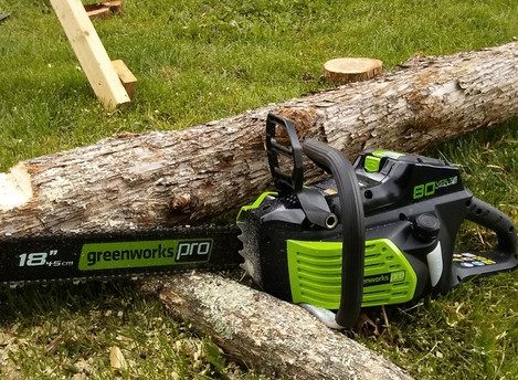 A Real-life, Solar-Powered Chain Saw
