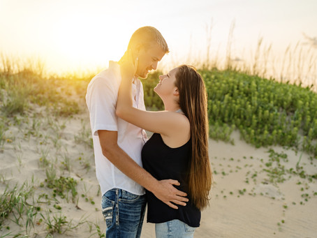 Nags Head Engagement Session