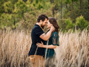 Kayla and Ryan    Jockeys Ridge Engagement session