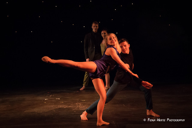 """Charlotte Howes and Mason Boyce in """"Reverse the Charges"""""""