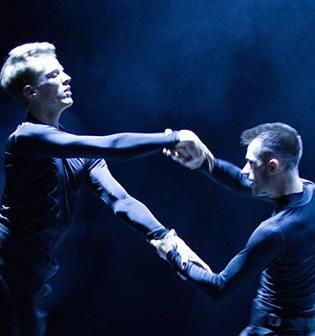 "Nikolai Hepp and Liam Dickinson in ""Disportment"""