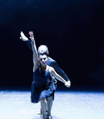 "Natasha Richardson and Domenic LeBrun in ""Disportment"""