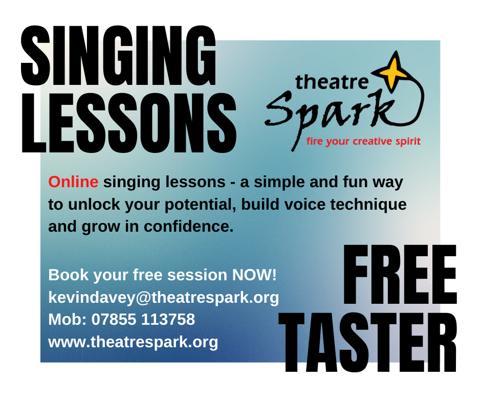 Theatre Spark Online Singing Lessons