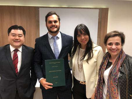 Luiz Felipe de T. Pieroni torna-se Mestre em Direito pela PUC/SP
