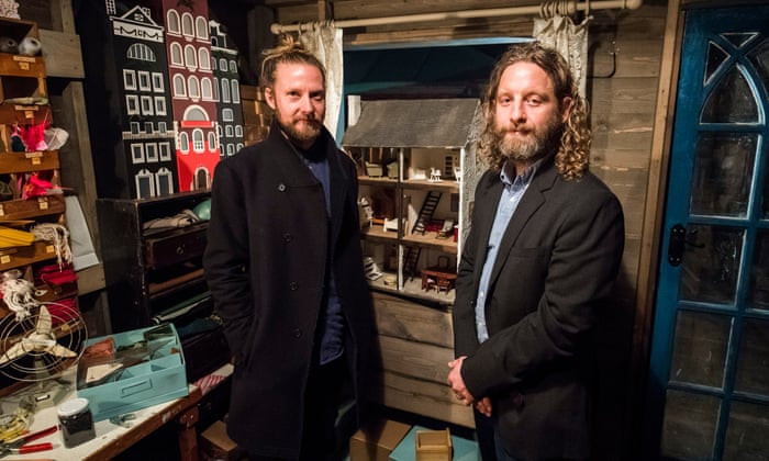 Levelling up … Felix Barrett, left, and Peter Higgin from Punchdrunk. Photograph: Tristram Kenton/The Guardian