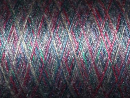 Multi-Color Silk Yarn: