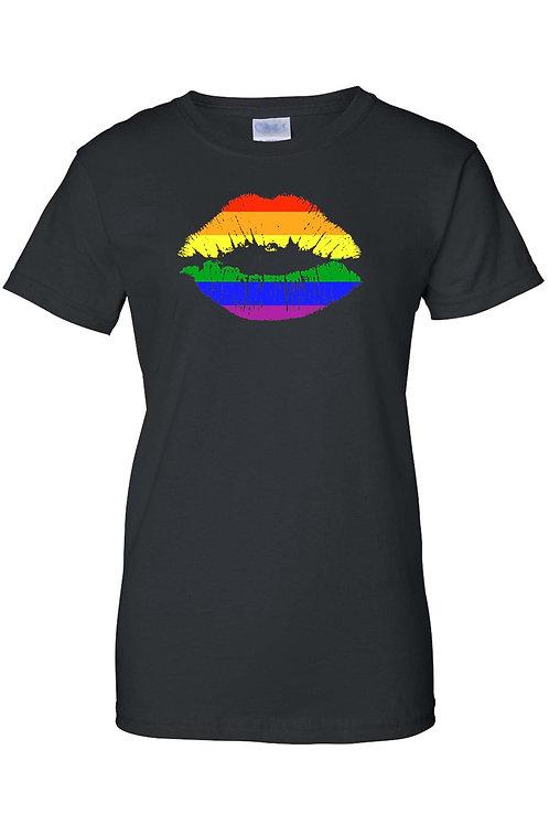 Rainbow Lips T-Shirt