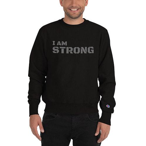 I am Strong - Men's Champion Sweatshirt