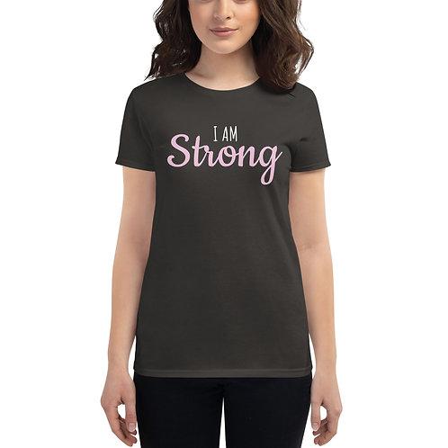 I am Strong - Women's Short Sleeve T-Shirt