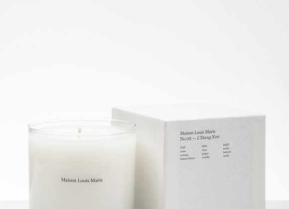 MAISON LOUIS MARIE - CANDLE NO.03