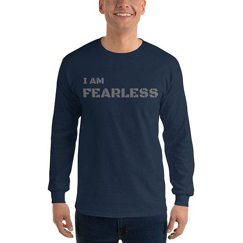 I am Fearless - Men's Long Sleeve Shirt