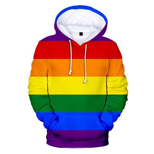 Pride Rainbow Hoodie