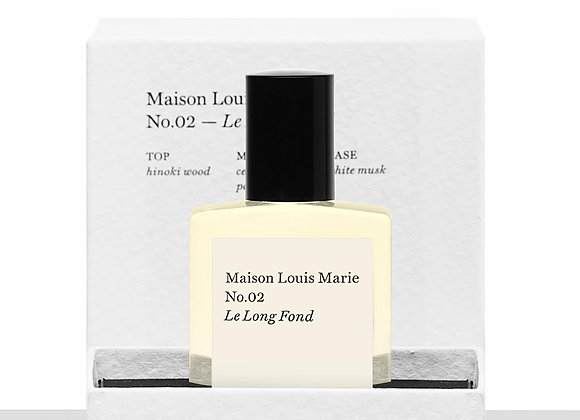 MAISON LOUIS MARIE - PERFUME OIL NO.02