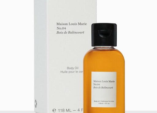 MAISON LOUIS MARIE - NO.04 BOIS DE BALINCOURT – BODY OIL