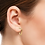 Thumbnail: ELLIE VAIL - ADELE MINI HEART EARRINGS