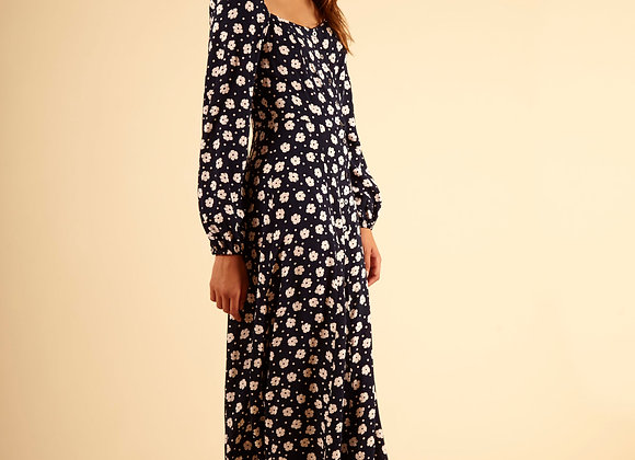FRNCH PARIS - AGNIELA DRESS - NAVY
