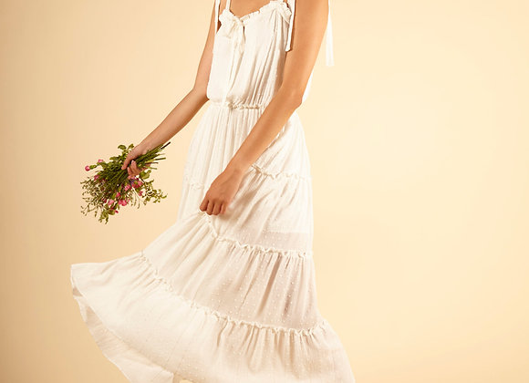 FRNCH PARIS - AIRELLE DRESS - WHITE