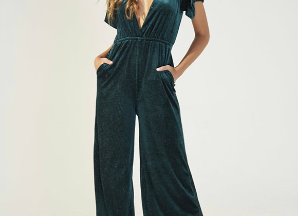 MINKPINK - I'M WITH YOU JUMPSUIT - EMERALD