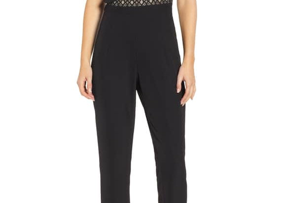 HEARTLOOM - KASEY - JUMPSUIT - BLACK
