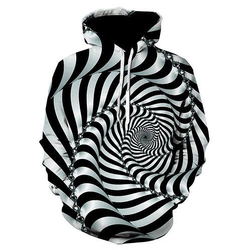 Men's 3D Hypnotic Hoodie