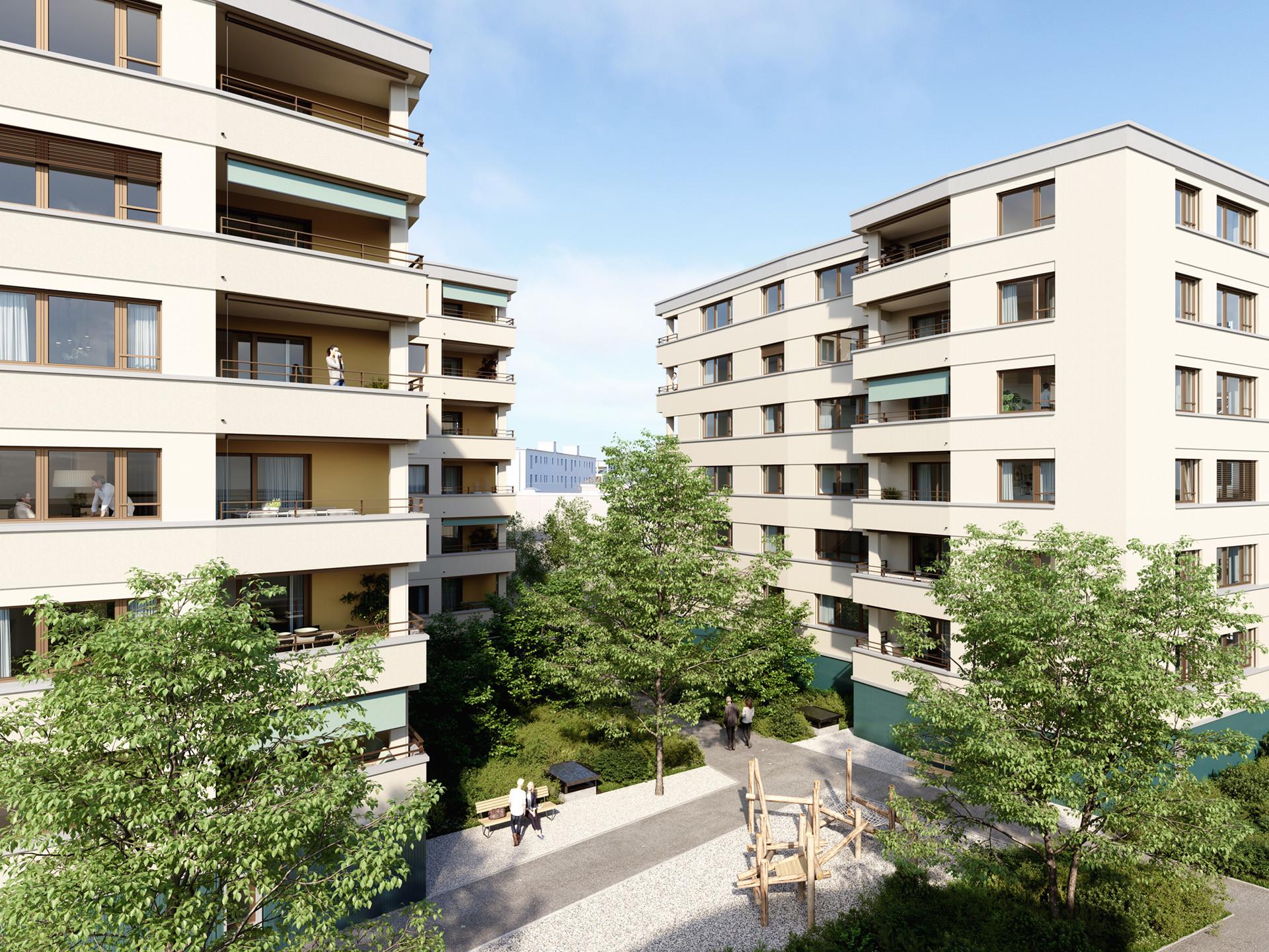 Neubau Wohn / Gewerbe