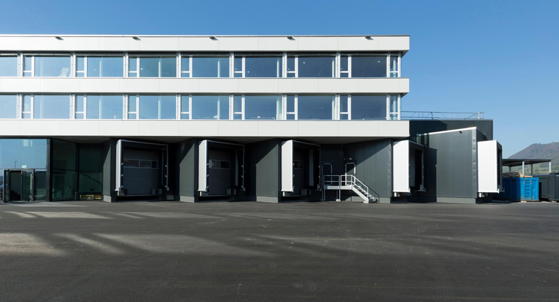 Neubau Büro / Produktion / Kühlhaus
