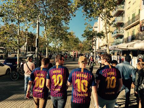 Football Cities: Barcelona