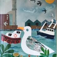 Shoreham Harbour Seagull