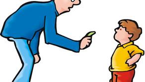 Ensine os pequenos o devido respeito ao professor
