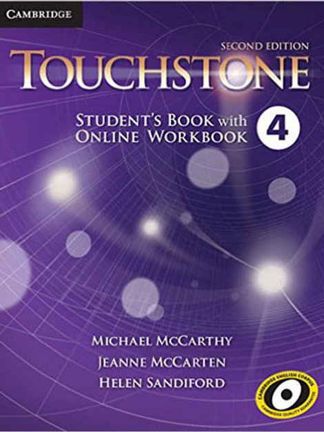 Touchstone 4 - Student'S Book With Online Workbook - Second Edition