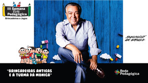 Mauricio de Souza na Rede Pedagógica