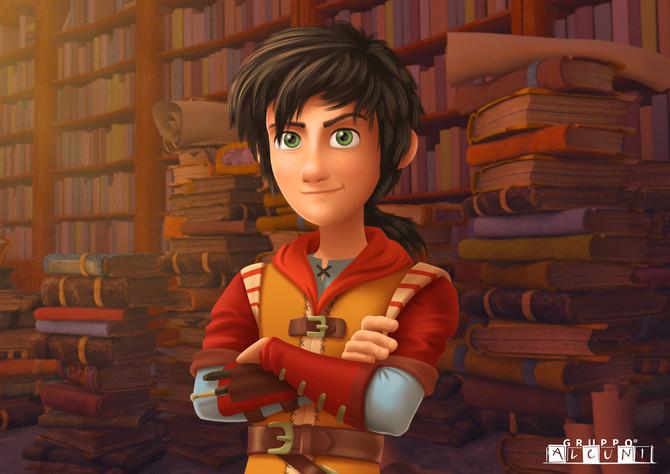 LEONARDO - newly acquired animation