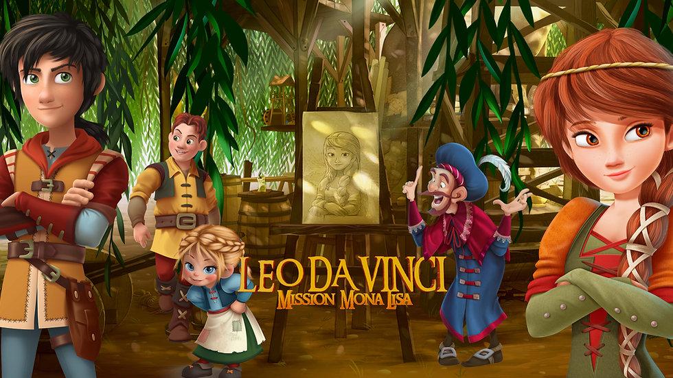 Leo Da Vinci:Mission Mona Lisa