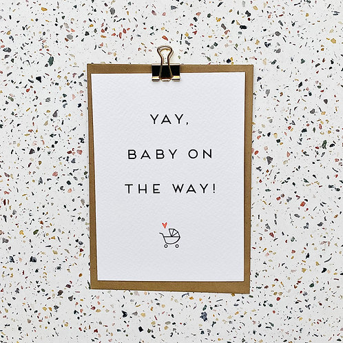 Yay! Baby on the way!