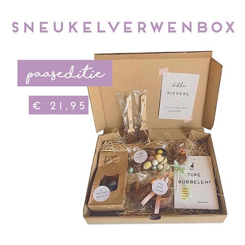 Sneukelverwenbox - paaseditie