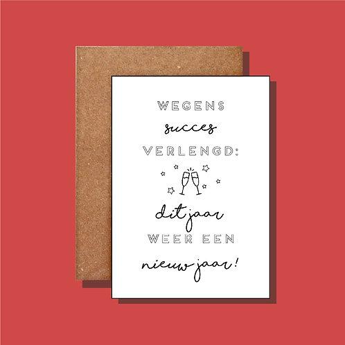 Wegens succes verlengd...